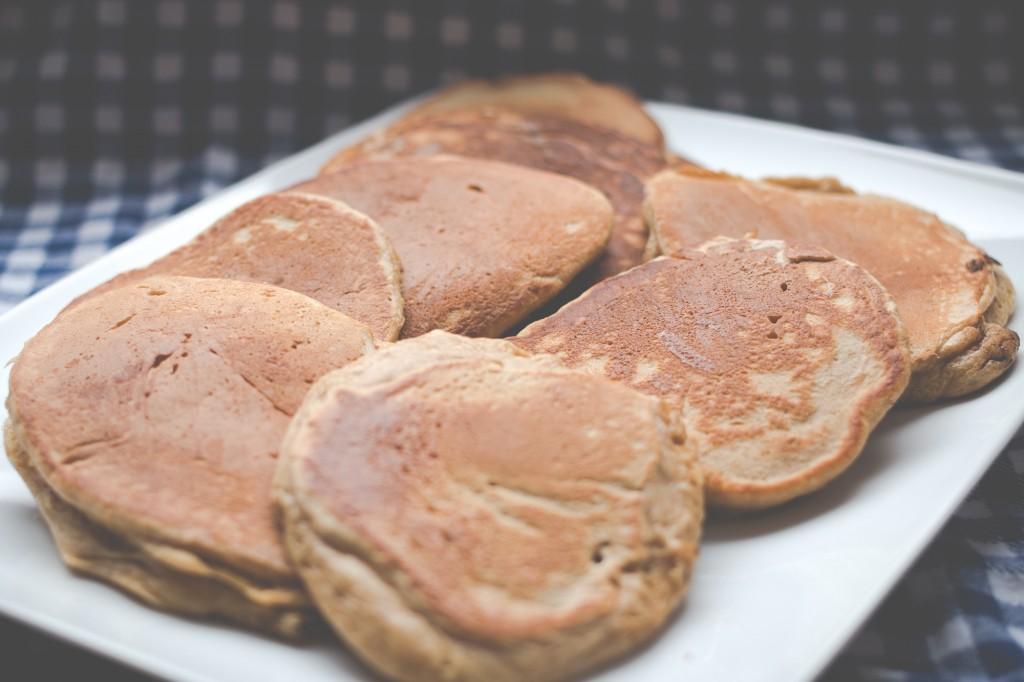 Fertige Chai-Pancakes