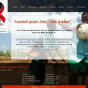 Website: Fußball gegen Aids e.V.