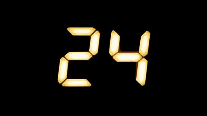 Logo der TV-Serie 24